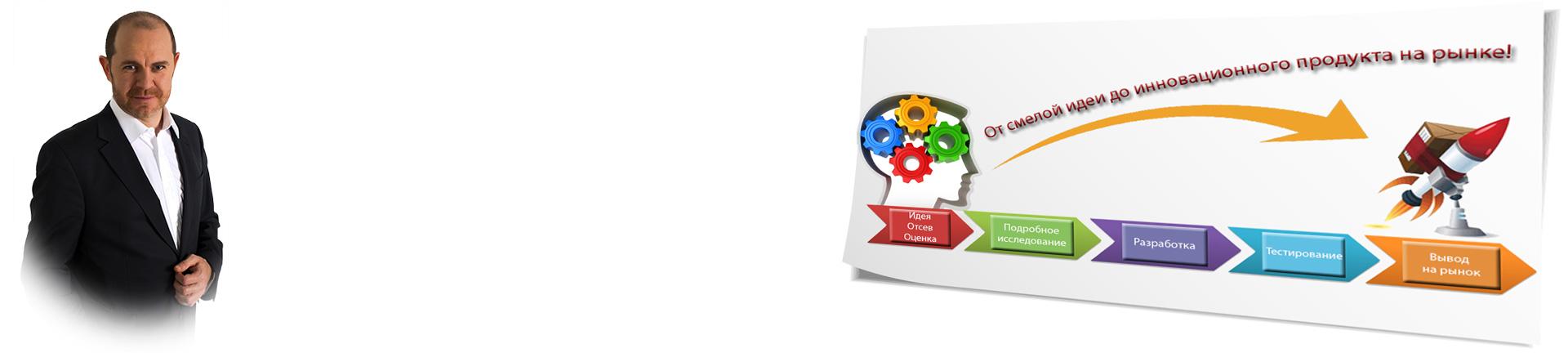 Разработка нового продукта, товара, ПО: помощь в создании и выводе на рынок