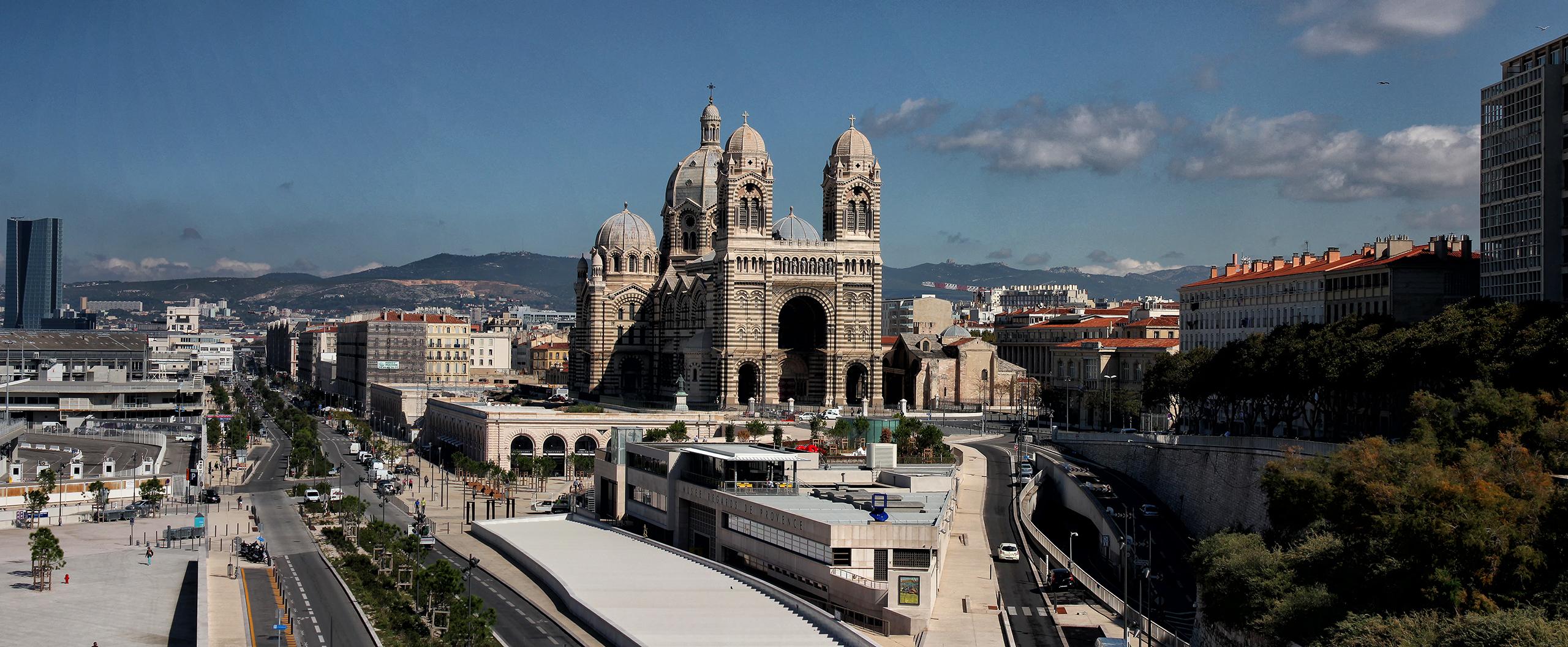 Панорама Марселя Marseilles