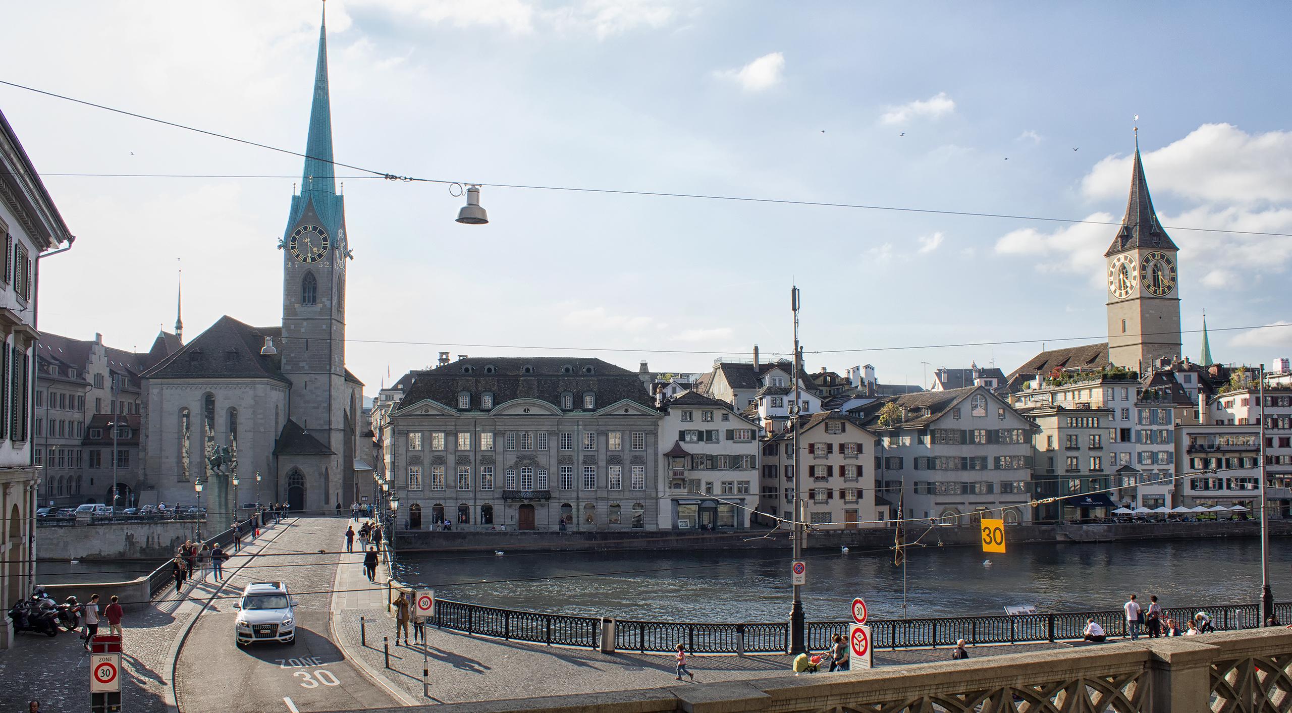 Центр Цюриха Zurich