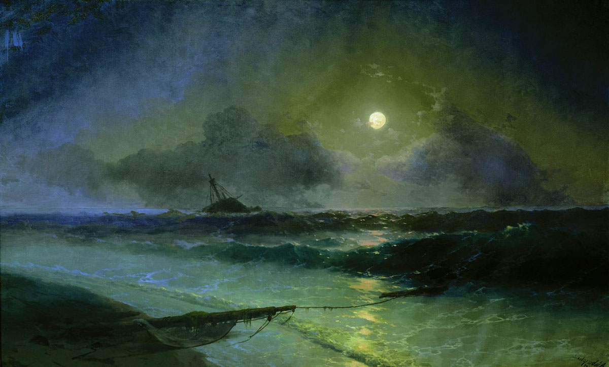 "Anti-Crisis Strategic Consulting • A Metaphor with Ivan Aivazovsky's painting ""Moonrise in Feodosia"""