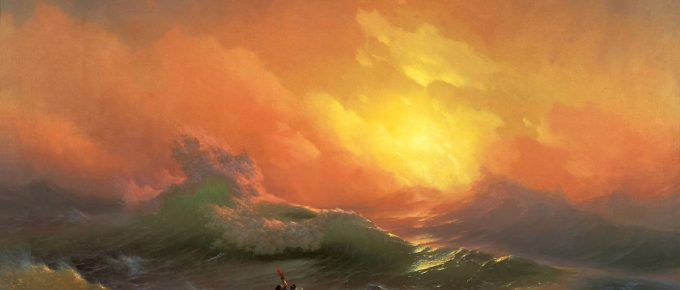 """Anti-Crisis Strategic Consulting • A Metaphor with Ivan Aivazovsky's painting """"Ninth Wave"""""""