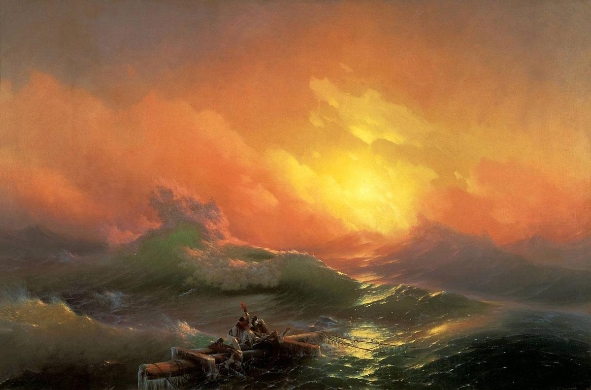 Антикризисный стратегический консалтинг • Метафора с картиной Айвазовского Девятый вал