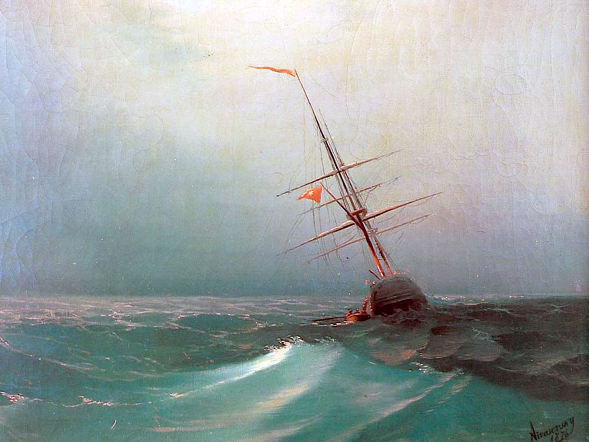 "Anti-Crisis Strategic Consulting • A Metaphor with Ivan Aivazovsky's painting ""Night. Blue Wave"""