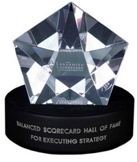 Cristal Symbol means a Company in Question Belong to the Balanced Scorecard Hall of Fame
