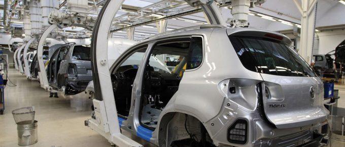 Live Representation of Processes at VW Conveyer
