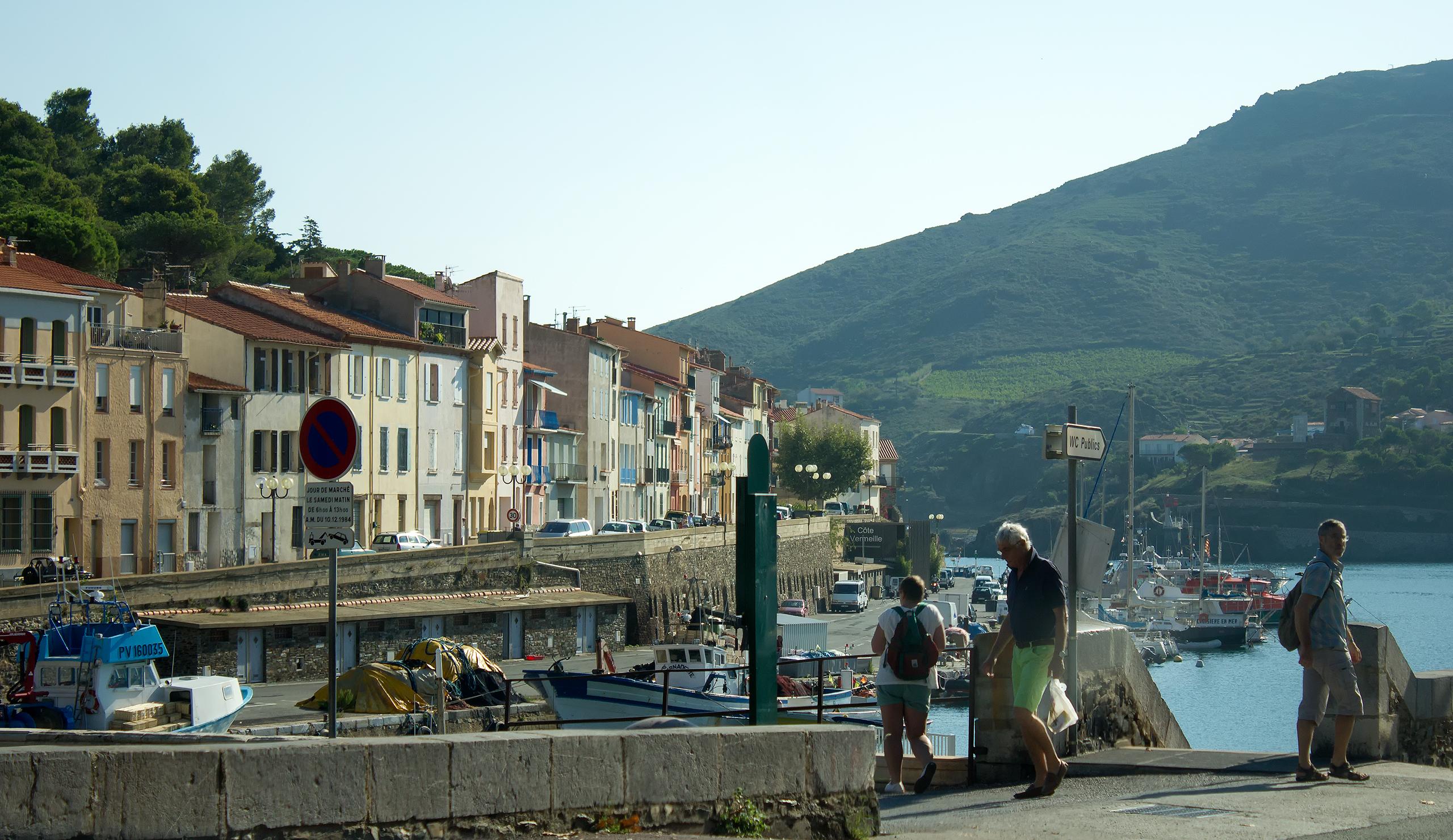 В прибрежном французском городе
