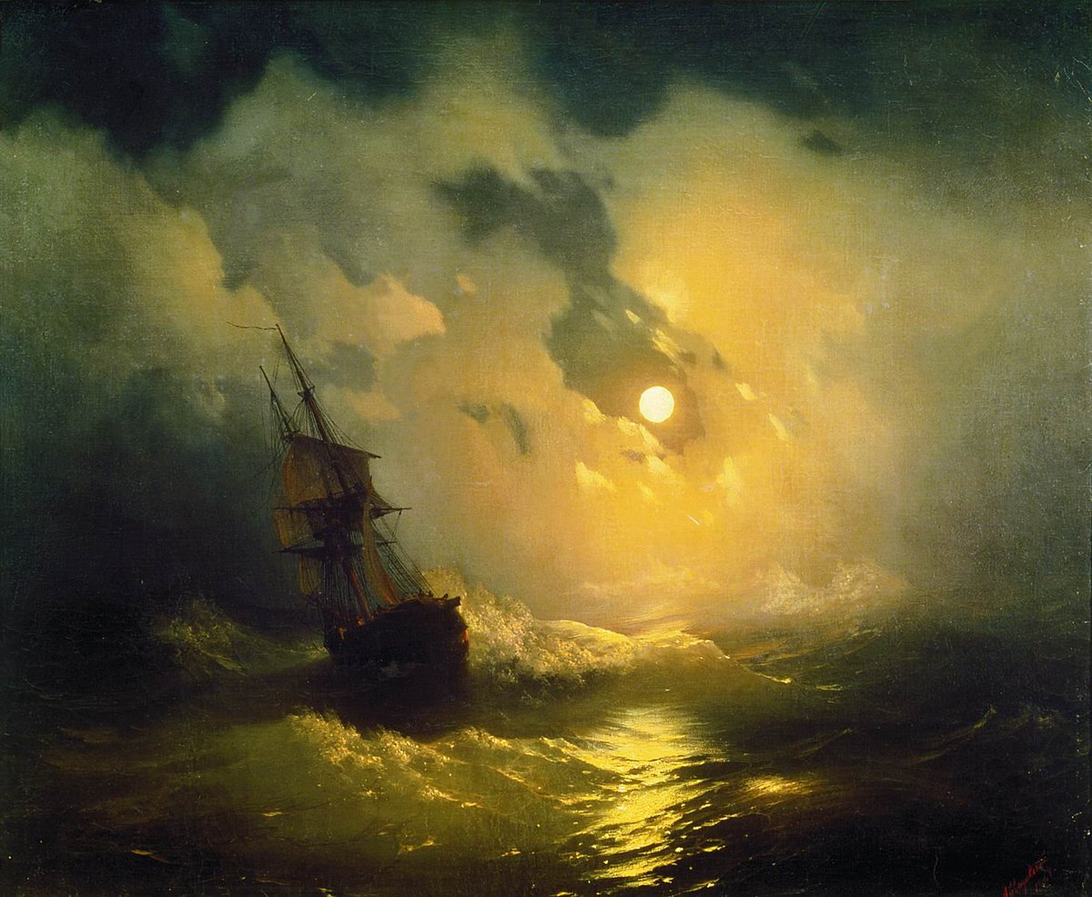 "Anti-Crisis Strategic Consulting • A Metaphor with Ivan Aivazovsky's painting ""Tempest at Sea at Night"""